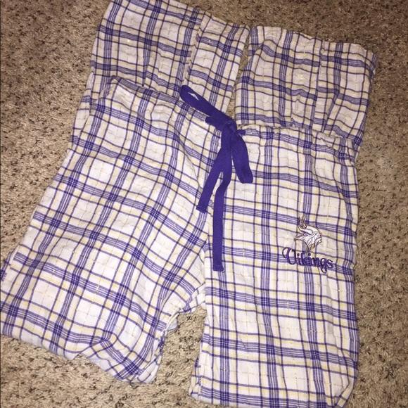 eace7afab8c NFL Minnesota Viking Flannel Pajama Pants. M 5b522770800dee132cbd845c